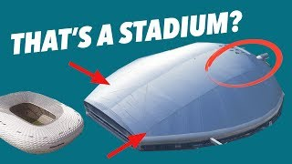 Critiquing the WORLD's most AMAZING STADIUMS!