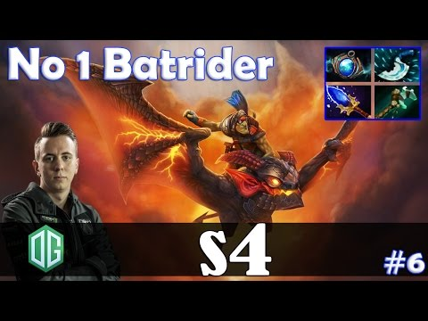 s4 - No 1 Batrider Offlane | with JerAx (ES) | Dota 2 Pro MMR  Gameplay #6