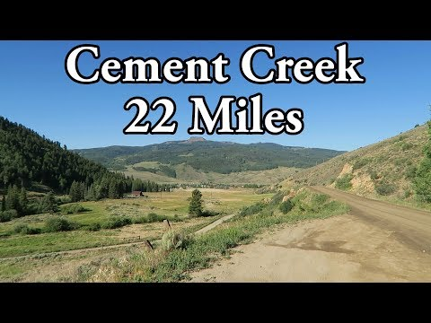 22 Mile Long Run at Altitude || Cement Creek (Crested Butte, CO)
