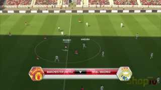 PES 2014 PS3 Gameplay - Man Utd vs Real Madrid - ShopTo