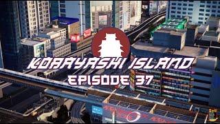 Suspended Monorail - Cities Skylines - Kobayashi Island Episode 37