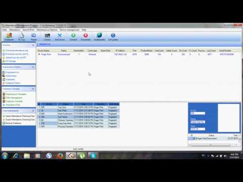 Granding Attendance Management Program YouTube 360p