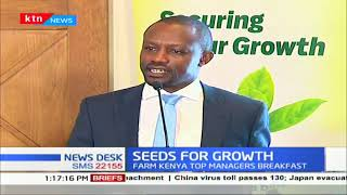 Uhuru's big four agenda gets a boost as firm Kenya steers an initiative to revolutionize agriculture