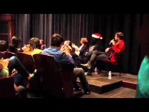 Excision Q and A Richard bates and Matthew Gray Gubler