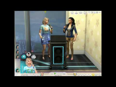 THE SIMS 4 : CITY LIVING EXPANSION - KARAOKE DUET