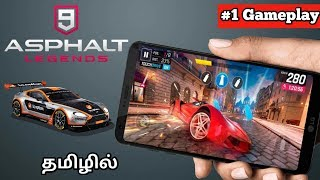 [Gameplay] Asphalt 9 Legends Game Review With Gameplay||TAMIL