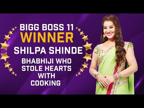 Bigg Boss 11 Winner Shilpa Shinde's journey was filled with emotions & laughter rides