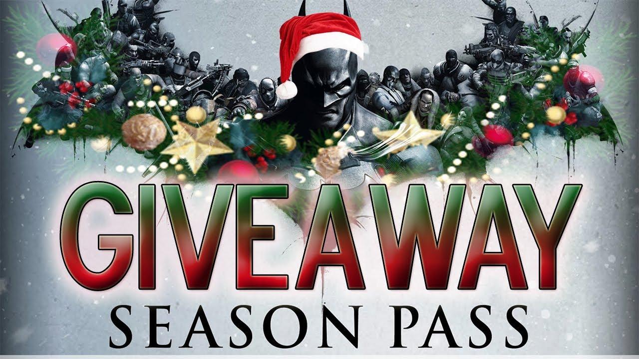 Batman: Arkham Origins | Season Pass GIVEAWAY!! (FREE) Merry ...