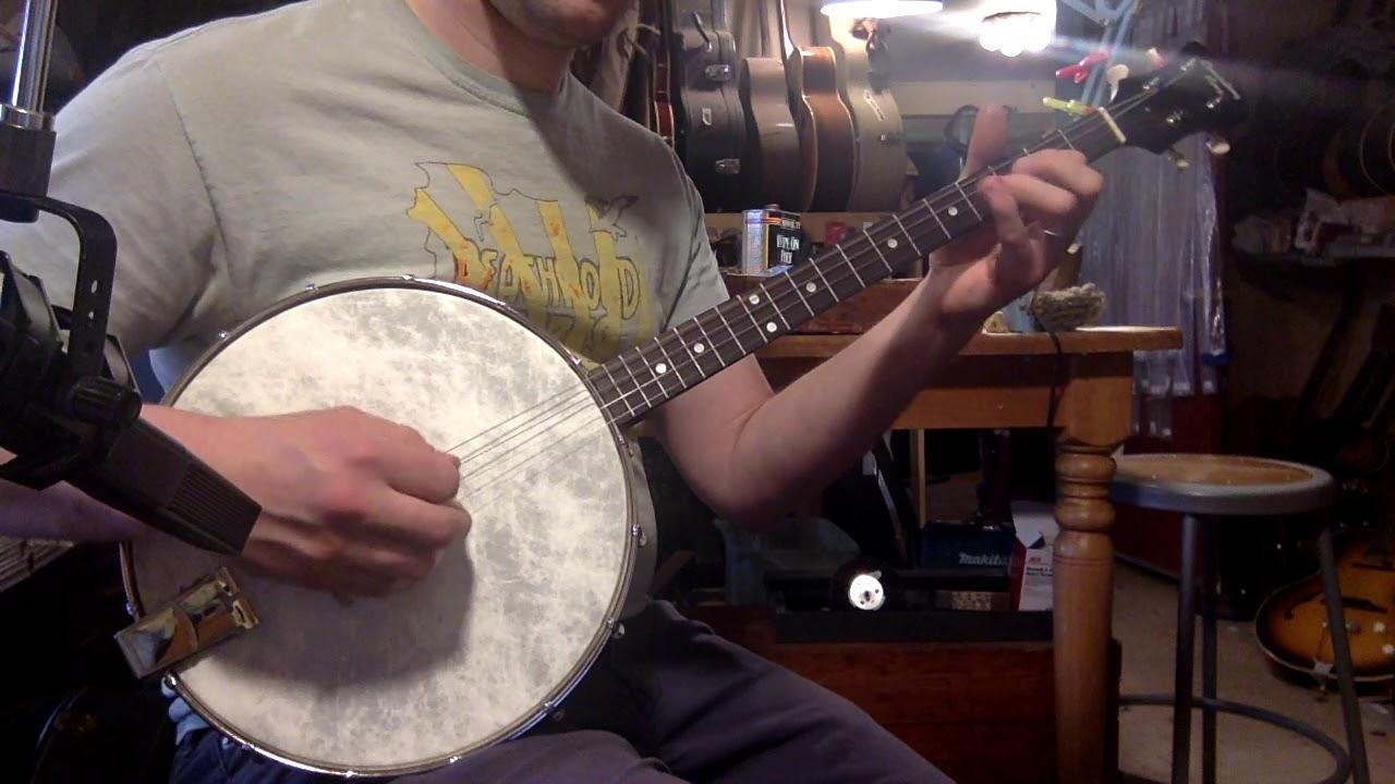 2017 Recording King Dirty Thirties openback tenor banjo
