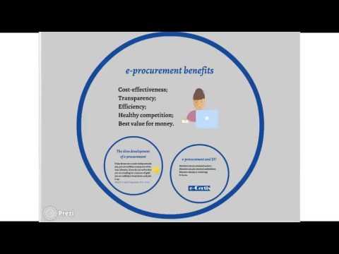 Webinar: The benefits and challenges of e-procurement: EU perspective