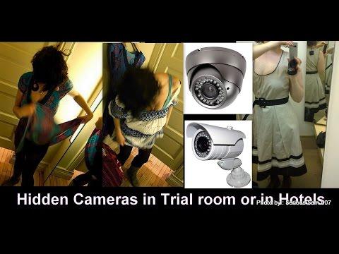 كيفية معرفة وجود كاميرات مراقبة داخل غرف الملابس والحمامات العامة