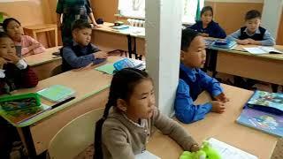 Урок мужества в 3 классе Кижингинского лицея. Сентябрь 2017 г.