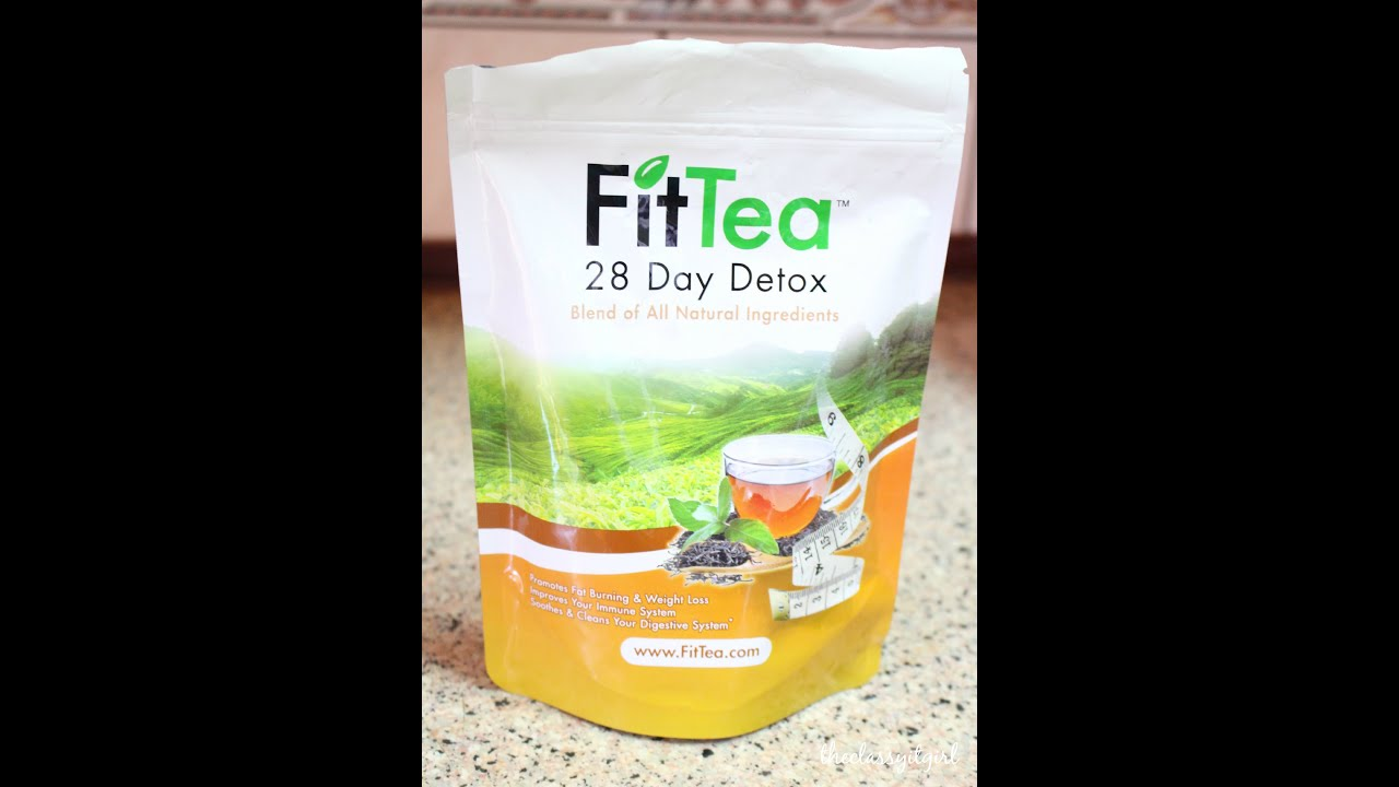 Fit Tea 28-Day Detox Review | Thelifedctr - YouTube
