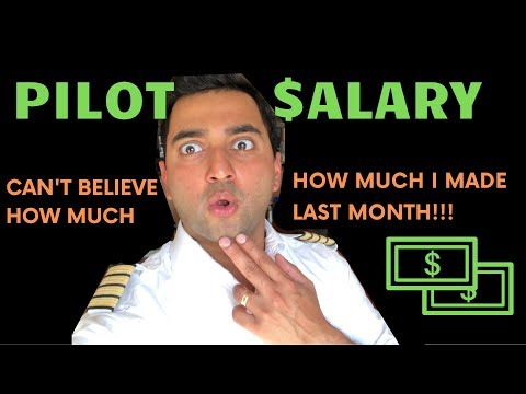 Pilot Salary- What I Made As A Pilot Last Month