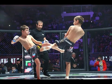 Сын Рамзана Кадырова Akhmad Kadyrov Vs Damir Shevkhuzhev Fight Grand Prix Akhmat 2016