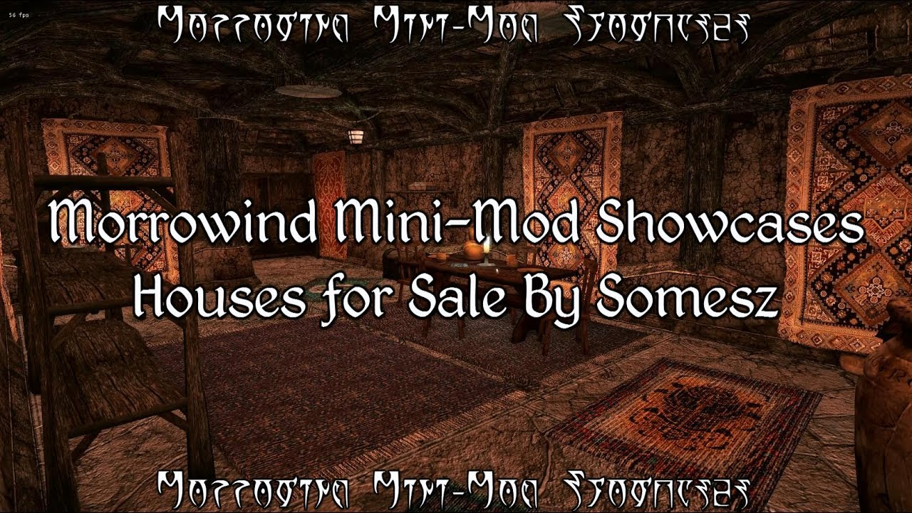 Morrowind Mini Mod Showcases Houses For Sale