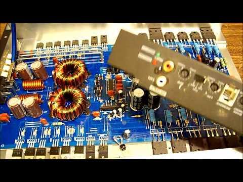 Response Precision car amp second repair