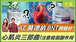 AZ 莫德納 BNT 那個好? 心肌炎三部曲!注意疫苗副作用【健康2.0精選】