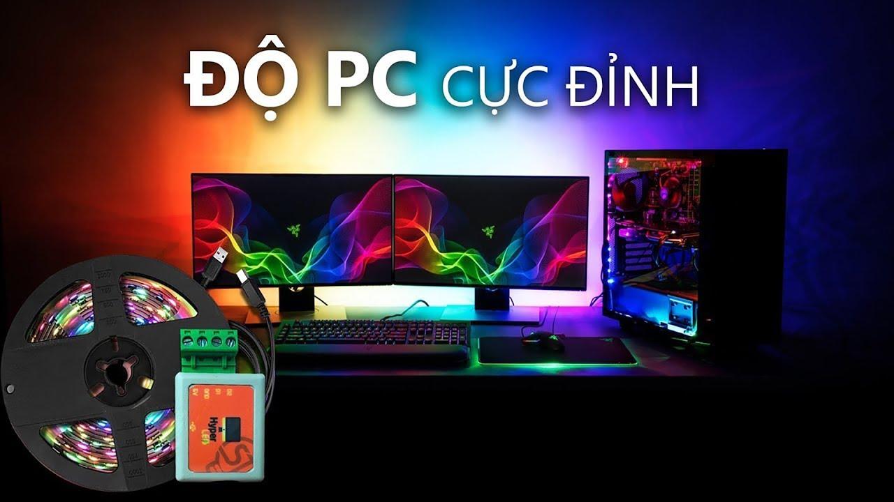 Độ LED AmbiLight cho máy tính PC Cực Đỉnh