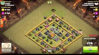 Clash of Clans - Importance of Luring out Clan Castle Troops ep. 1