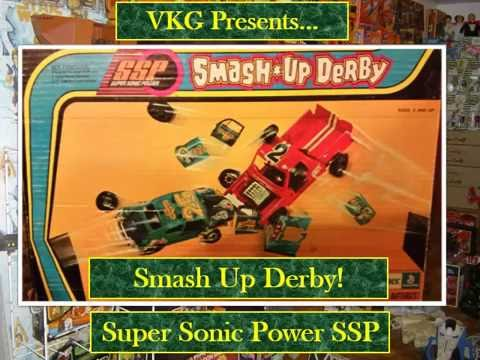 Vintage 70's Kenner Super Sonic Power Smash Up Derby Coming Soon