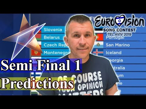 Eurovision 2019: Semi Final 1 Qualifiers - Predictions