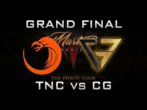 TNC vs CG Grand Final PH Manila Masters 2017 Highlights Dota 2 - Part 1