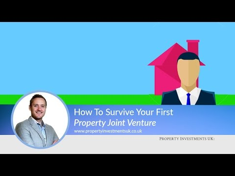 How To Survive Your First Property Joint Venture