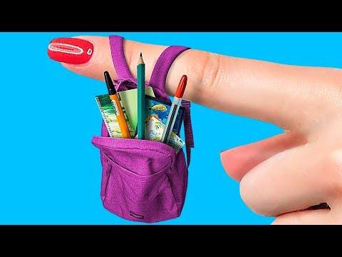 14 DIY Miniature School Supplies That Work!