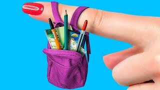 14 DIY Miniature School Supplies That Work!