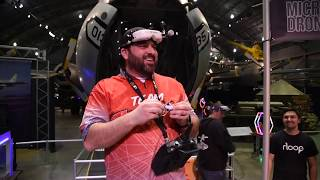 Micro Drone Race Highlights Feb. 2020 National Museum of the USAF