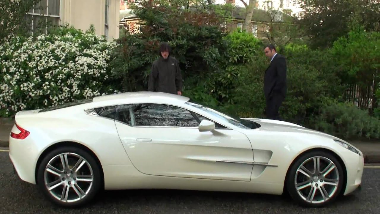 White Aston Martin One 77 Walkaround In London Youtube