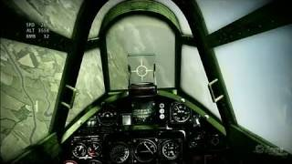 IL-2: Sturmovik: Birds of Prey Xbox 360 Gameplay - Failing on Simulator Difficulty