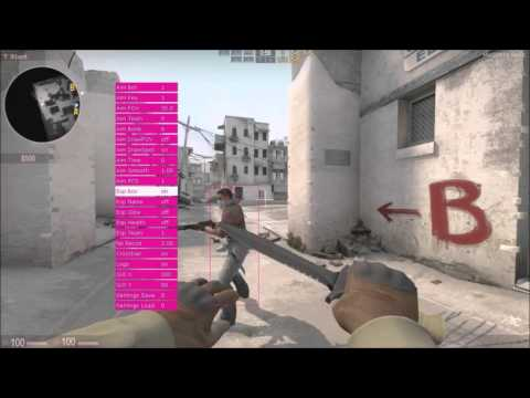 CSGO Private MAGENTA HACK FEATURES PART 1