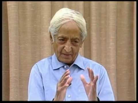 Have you had mysterious experiences? Is this kundalini? | J. Krishnamurti