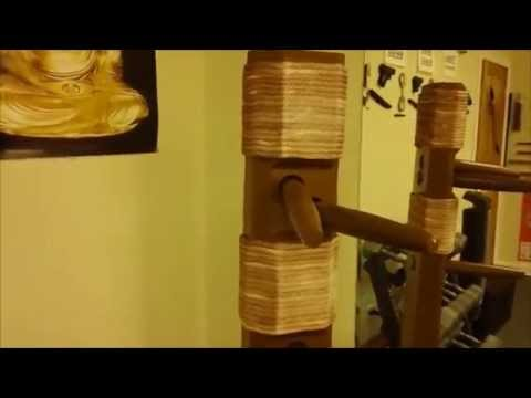 Cheap Wing Chun Dummy