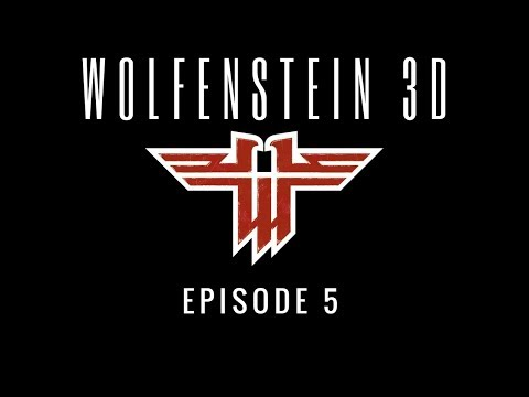 Gaming With Twinn! Let's Play Wolfenstein 3D Ep. 5 Operation Eisenfaust (Floor 1) |