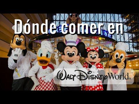 Dónde comer en Disney World / Los mejores restaurantes que no te puedes / Dani Godinez