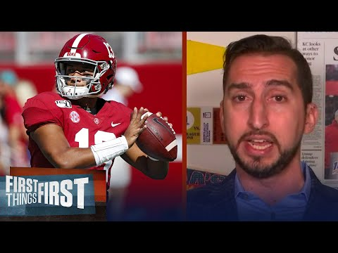Of course the Patriots want Tua, he's a future superstar — Nick Wright | NFL | FIRST THINGS FIRST