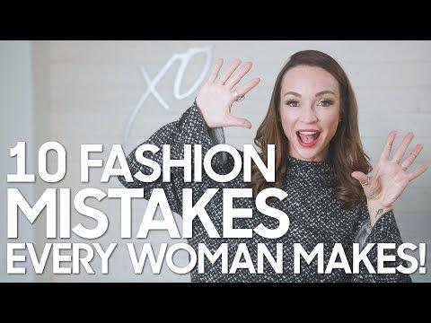 10 Fashion Mistakes