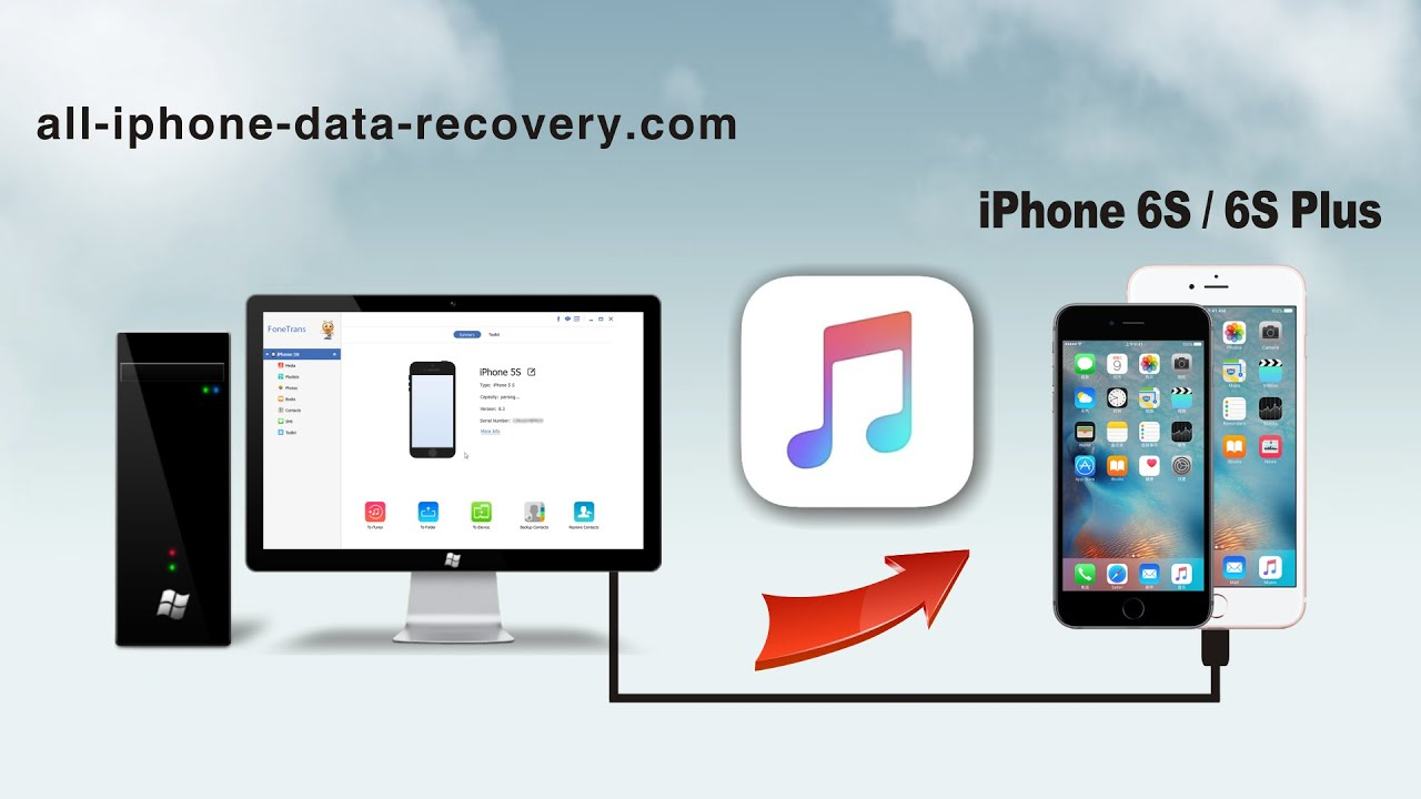 how to download music to iphone from computer without itunes