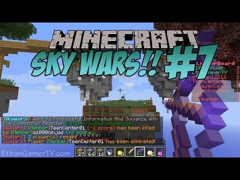 Thumbnail: Ethan plays Minecraft: Sky Wars (#7) | KID GAMING