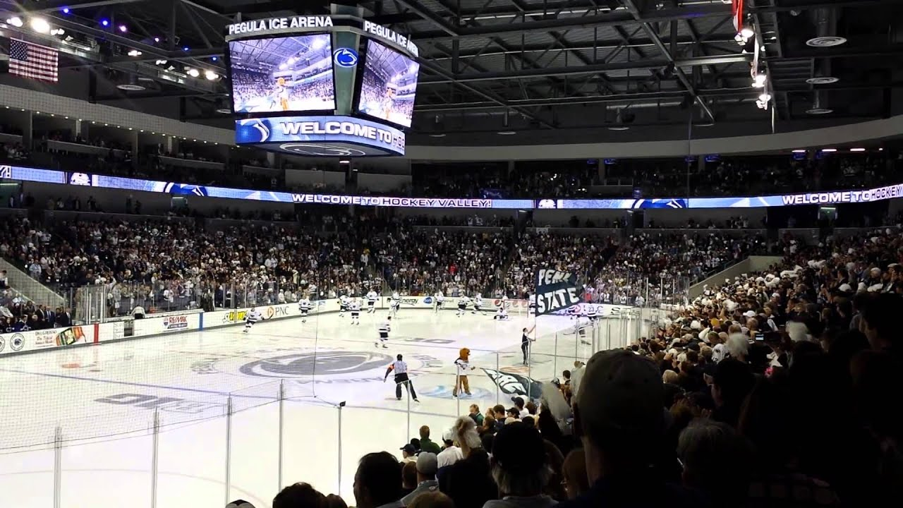 Opening Night at Pegula Ice Arena PSU vs Army