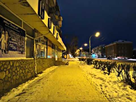 Прогулка по ночной Кушве