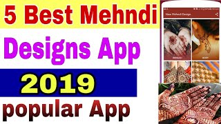 5 Best Mehndi designs Apps    Mehndi App    Best Arbic Mehndi designs Apps screenshot 4