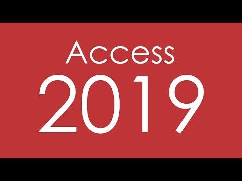 CURSO DE ACCESS 2019 - COMPLETO
