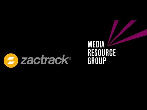 Media Resource Group - 3D Tracking with zactrack