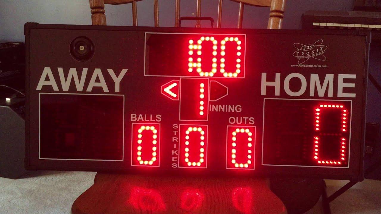 Mini Digi Cricket Scoreboard