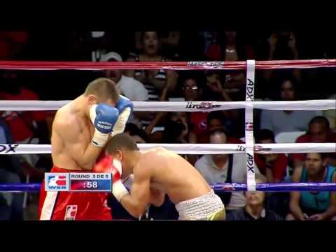 Puerto Rico Hurricanes v Rafako Hussars Poland - World Series Of Boxing Highlights