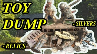 Metal Detecting A Mid 1800s House Tear Out - Found A Vintage Toy Dump